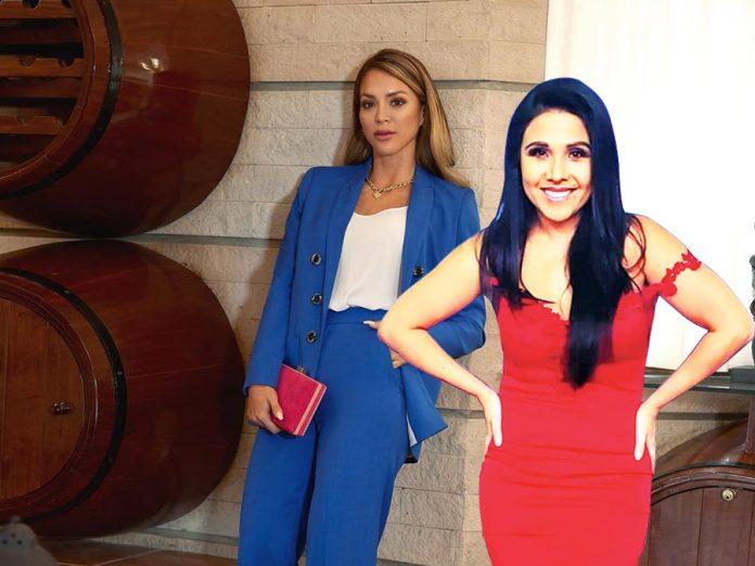 Tula Rodríguez y Sheyla Rojas