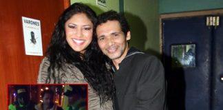 Kike Suero y su esposa Geraldine Quezada