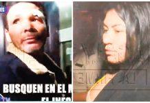 Kike Suero y su pareja Geraldine Quezada
