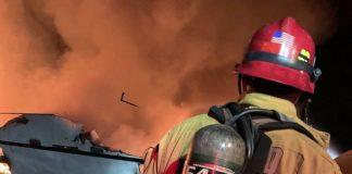 Incendio de barco
