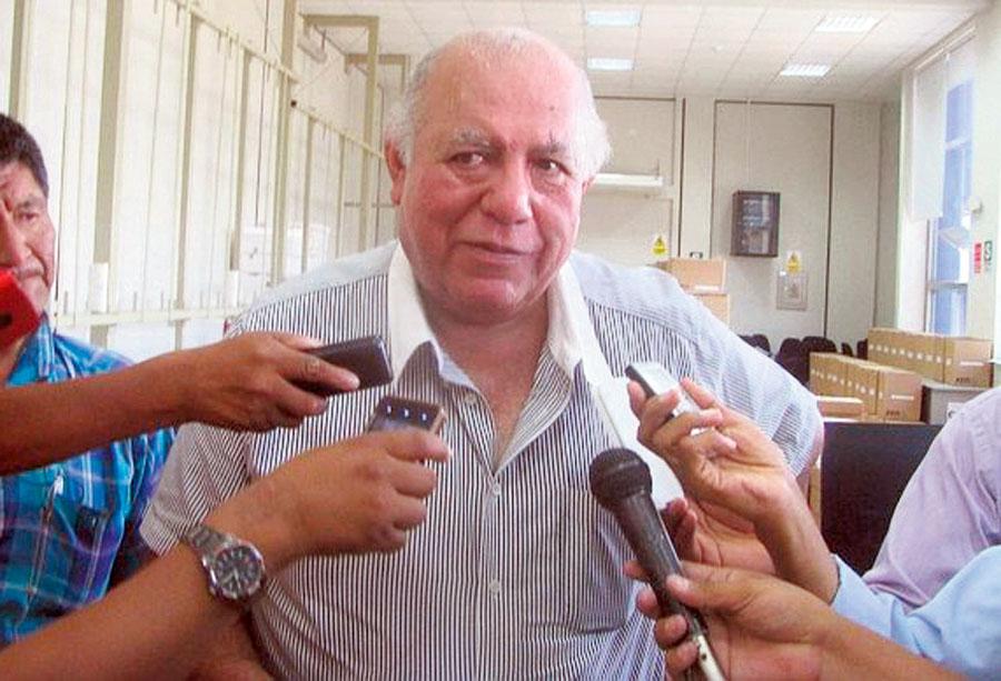 Alcalde de la provincia de Tacna, Luis Torres Robledo