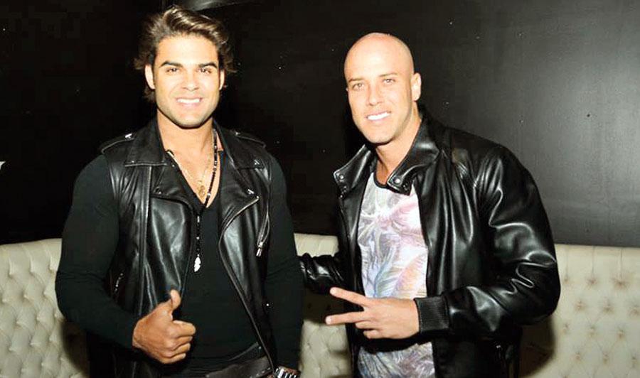 Bruno Agostini y Erick Sabater