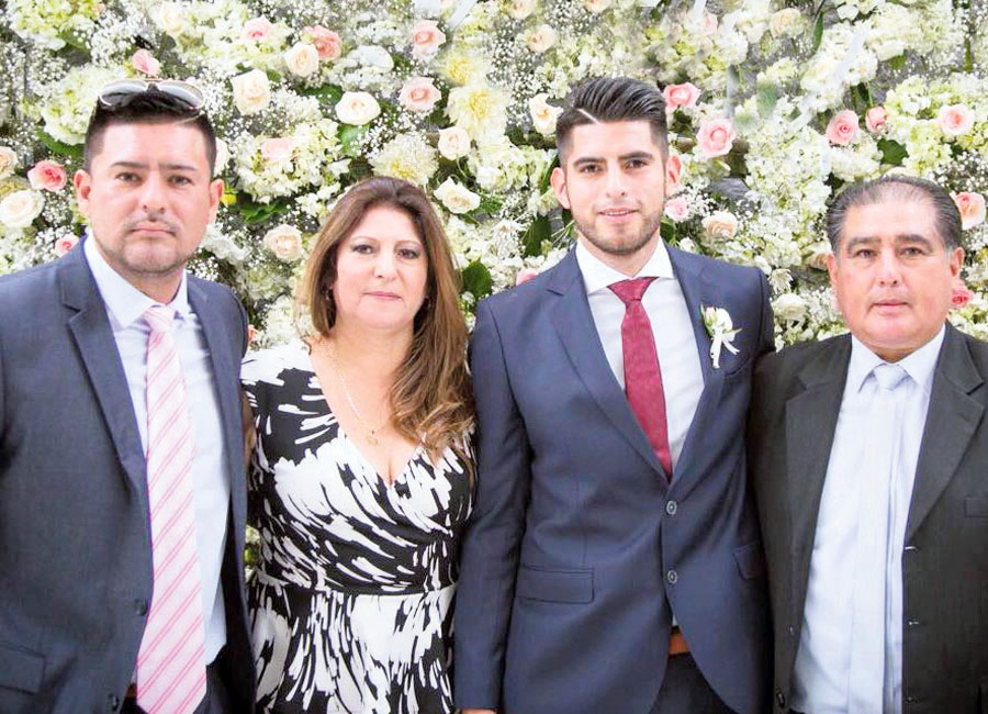 La madre del pelotero Carlos Zambrano, Mara Zambrano