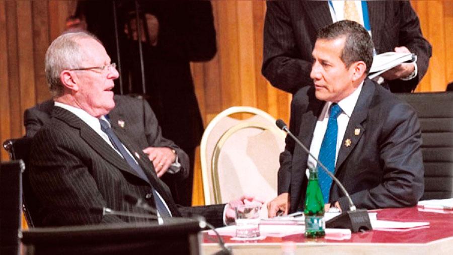 PPK y Humala