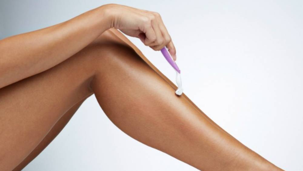 rasurar las piernas