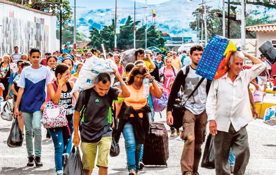 Migracion de venezolanos