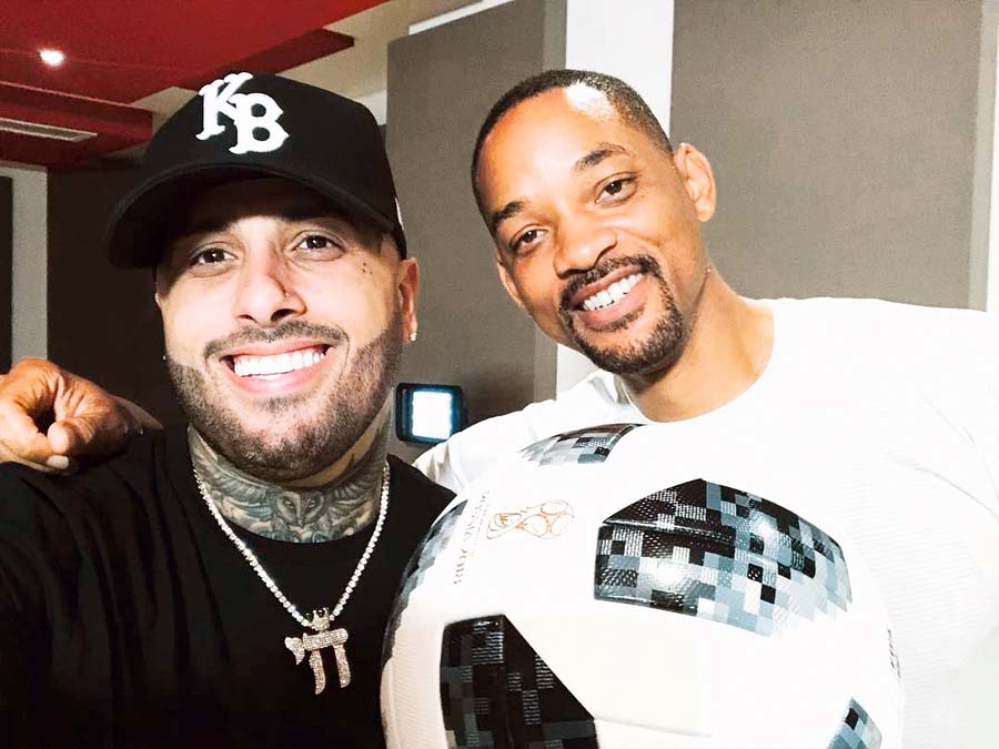 Nicky Jam y Will Smith