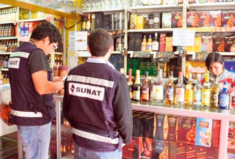 Sunat - bebidas alcoholicas