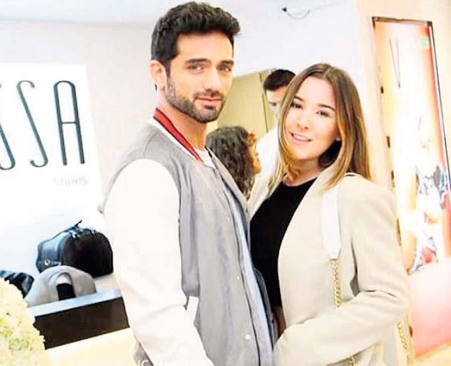 Alessandra Fuller y Pablo Heredia
