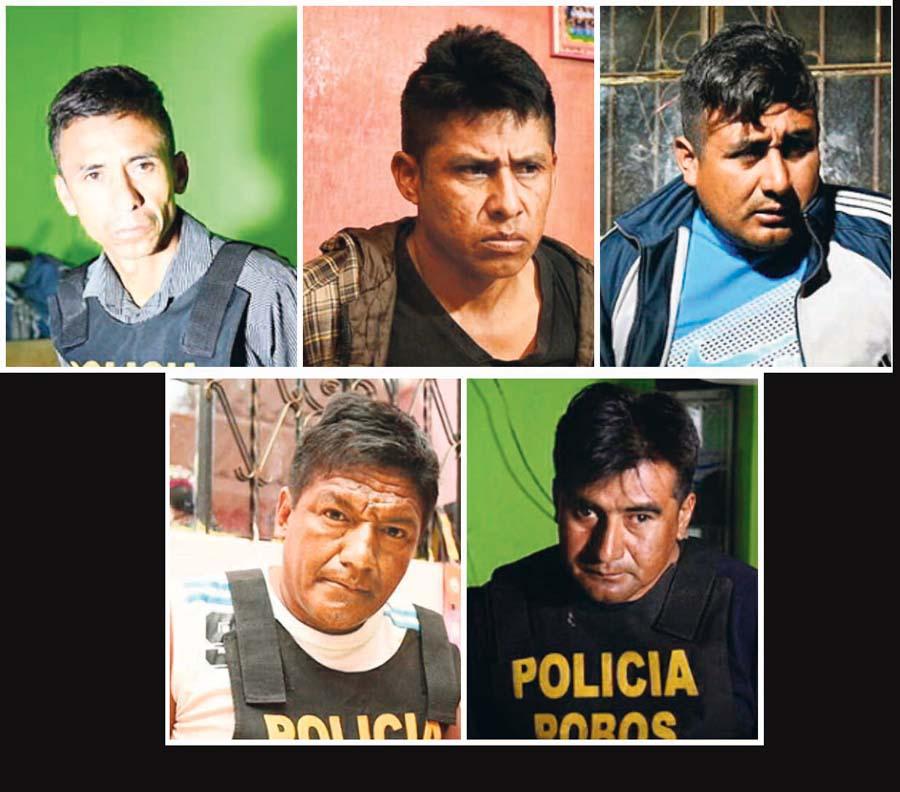 Cinco policías eran parte de 'Los Paisas de Talara'