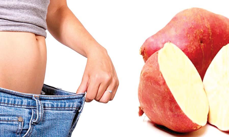 Reduce la barriga incluyendo camote en tu dieta