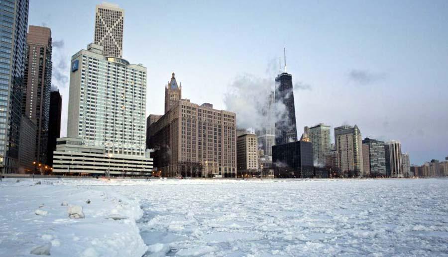 EE.UU se congela