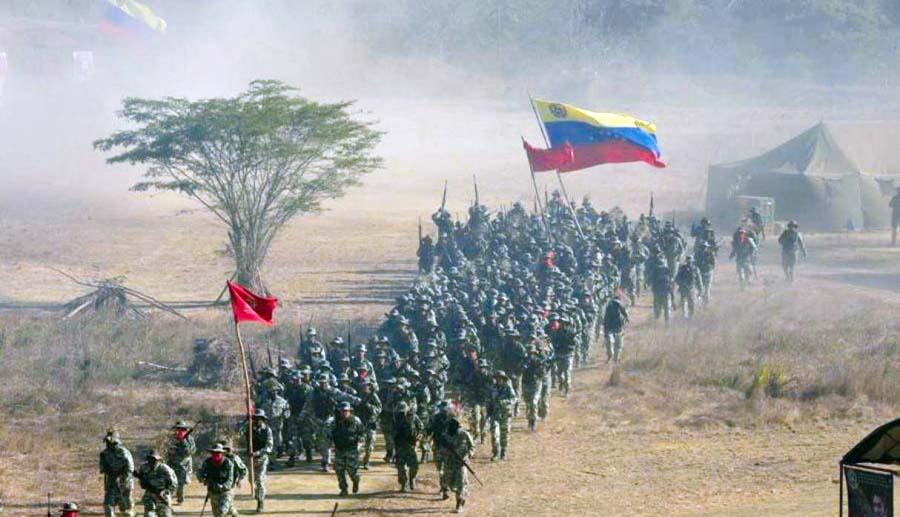 Tropas venezolanas