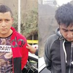 """Helaman Alfonzo Reyna López (34) """"chancheta"""" y Jhon Patrick Lauro Vargas (21) """"caña"""","""