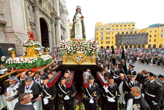 Procesión de Santa Rosa de Lima
