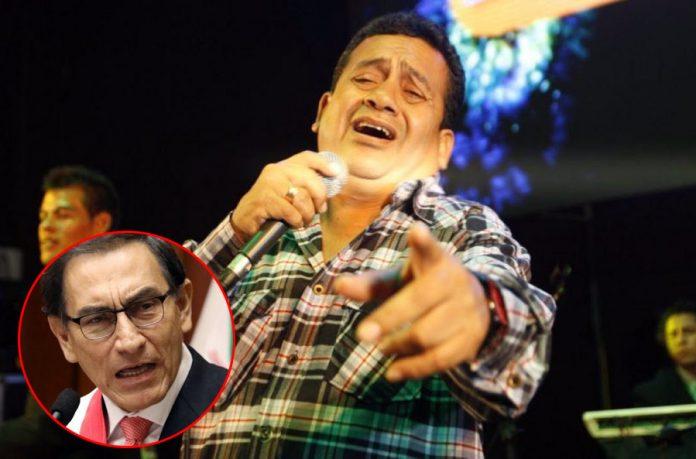 Tony Rosado arremete contra el presidente Martin Vizcarra