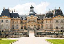 Castillo francés Vaux-le-Vicomte
