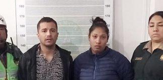 Dayana Murillo Flores y Víctor Poquioma Carreño