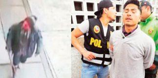 """Jorge Alberto Magallanes Trigoso (32), conocido como """"El loco del cuchillo"""""""