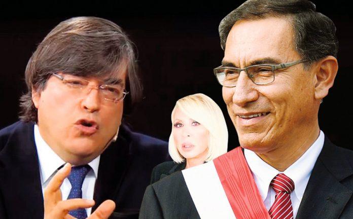 Laura Bozzo y Jaime Bayly en contra del presidente