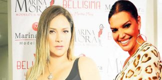 Marina Mora y Jessica Newton