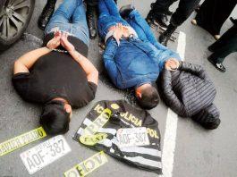 Policías capturan a tres feroces delincuentes