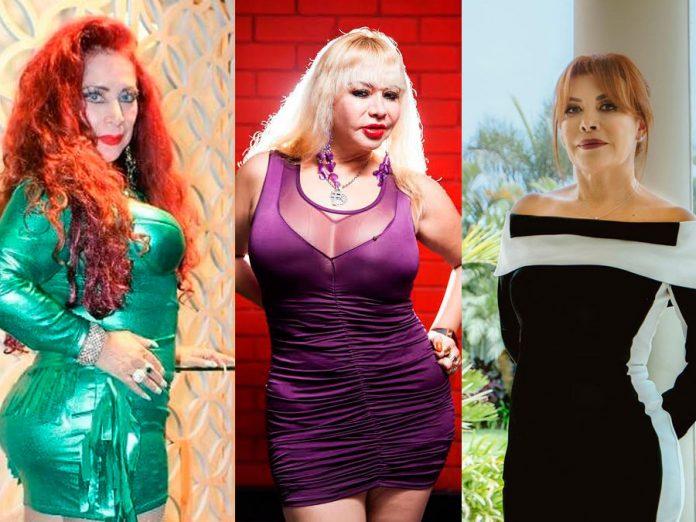Monique Pardo, Susy Díaz y Magaly Medina