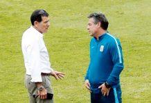 Gustavo Zevallos y Pablo Bengoechea