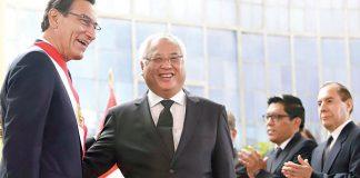 Martín Vizcarra y Juan Carlos Liu