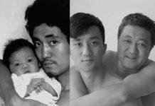 Padre e hijo durante 28 años