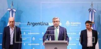 Presidente de Argentina.