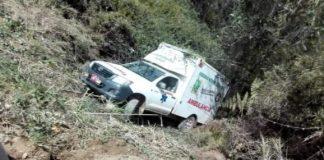 Ambulancia al vacío.