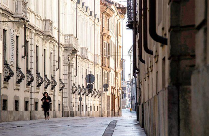 Italia con el Coronavirus