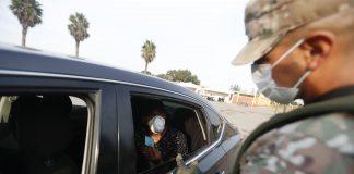 Control de Fuerzas Armadas y la Policía Naciona