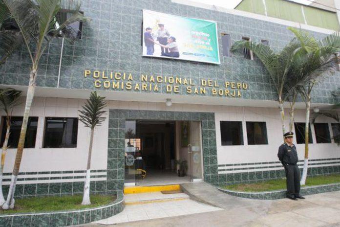 Comisaría de San Borja.