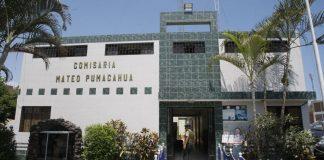 Comisaría Mateo Pumacahua.