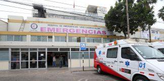 Hospital Casimiro Ulloa.