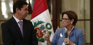 José Miguel Castro y Susana Villaran