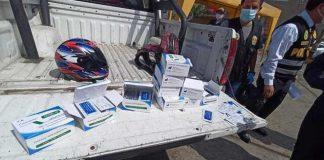 Repartidor cae con 250 pruebas para Covid-19 del Minsa