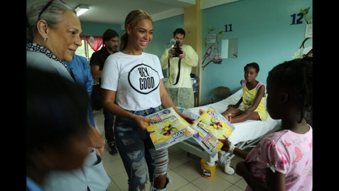 Beyoncé recibe Premio Humanitario