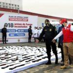 Incautan más de 900 armas durante estado de emergencia