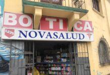 Botica Novasalud.