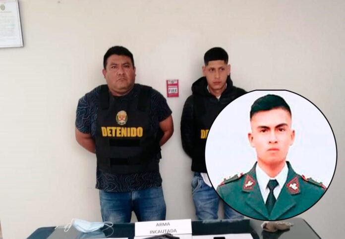 Ghilmar Antonio Jara Ordóñez (40) y Gian Franco Jara Zamora fueron detenidos tras ser vinculados con el asesinato del joven policía Rafael Delgado