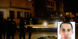 Motociclista mató a un joven y escapó arrojando su pistola