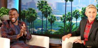 Ellen DeGeneres se reúne con Kevin Hart