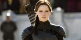 """Jennifer Lawrence como 'Kadniss Everdeen' en la tetralogía de """"Los juegos del hambre""""."""