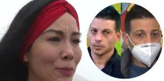Patty Wong llora al defenderse de las acusaciones de su ex