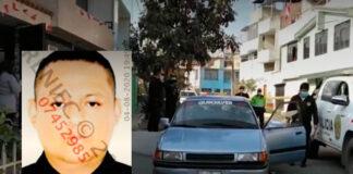 Taxista muere acribillado a balazos dentro de su auto