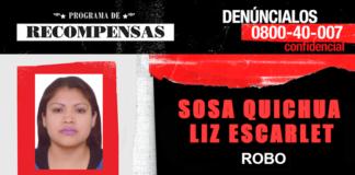 Liz Escarlet Sosa Quichua