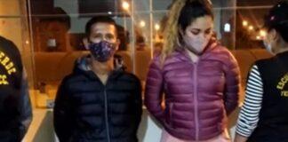 Jackson Daniel Paredes Gallardo (24) y María Martínez García, ambos extranjeros.